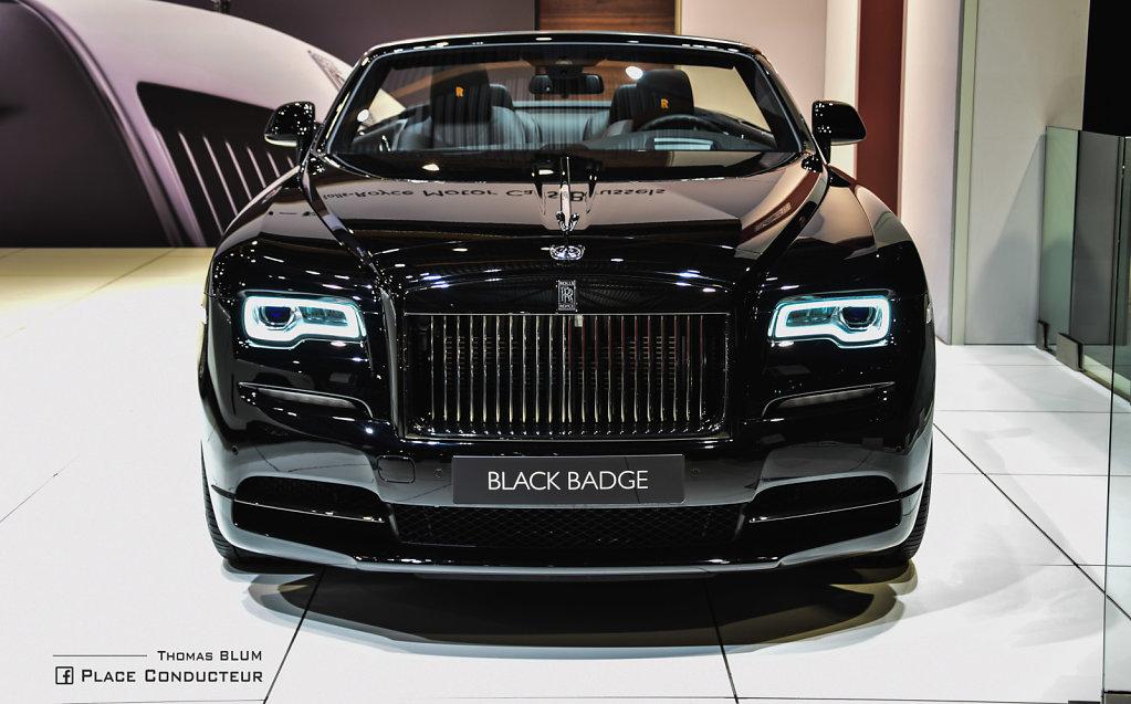 Rolls Rolls Dawn Black Badge