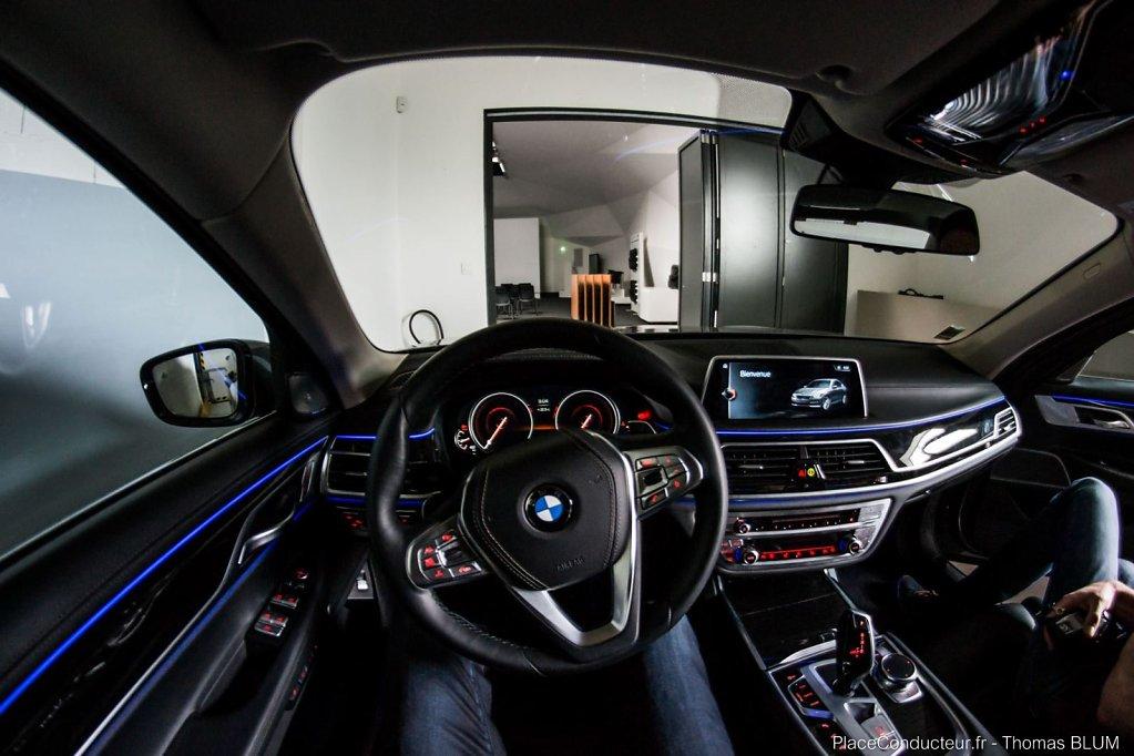 BMW 7 Series #blue